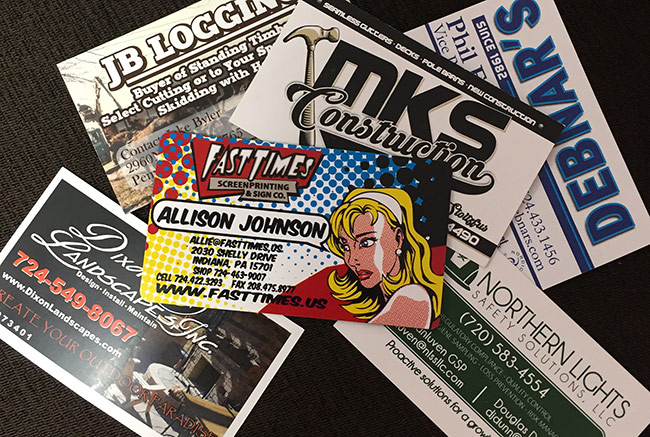 Fasttimes Business Cards