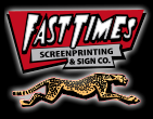 Fast Times Screen Printing logo
