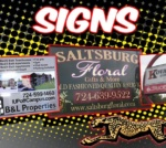 Custom Printed Signs