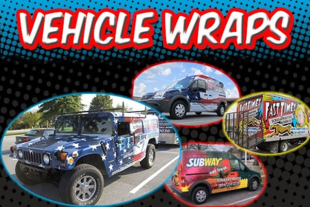 Vehicle Wraps for marketing and advertising