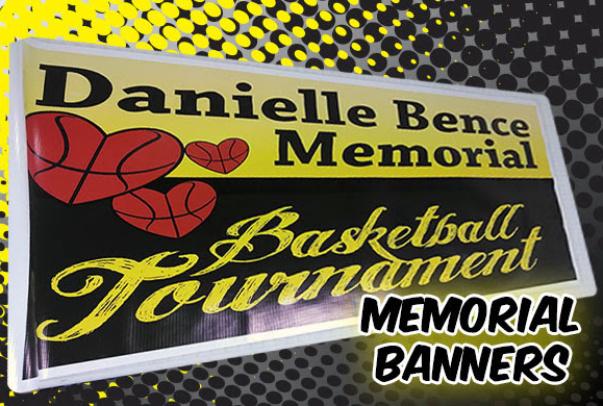 memorial banners