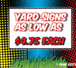 Yard-Signs